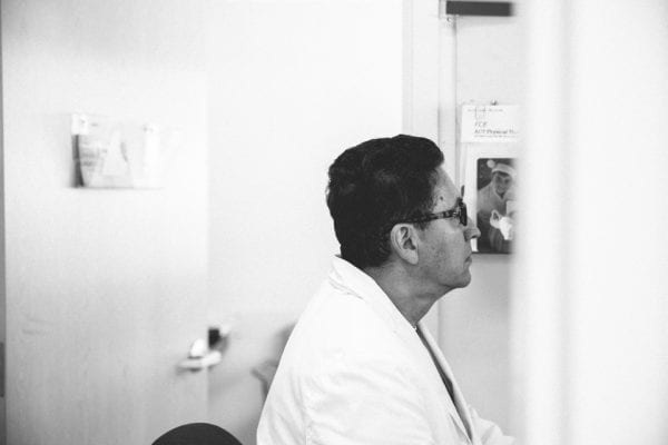 Dr. Caycedo Working
